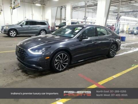 2020 Hyundai Sonata for sale at Fishers Imports in Fishers IN