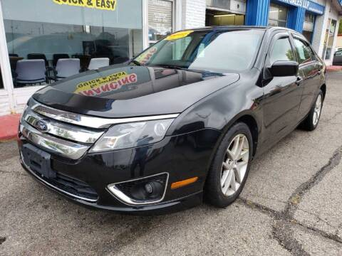 2012 Ford Fusion for sale at AutoMotion Sales in Franklin OH