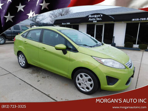 2012 Ford Fiesta for sale at Morgan's Auto Inc in Paoli IN