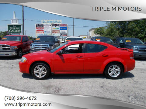 2009 Dodge Avenger for sale at Triple M Motors in Saint John IN
