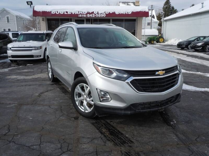 2018 Chevrolet Equinox for sale at Boulevard Used Cars in Grand Haven MI