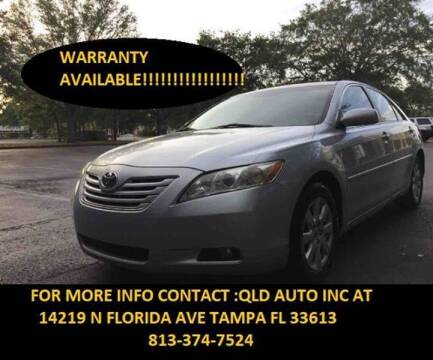 2007 Toyota Camry for sale at QLD AUTO INC in Tampa FL