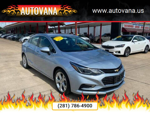 2017 Chevrolet Cruze for sale at AutoVana in Humble TX