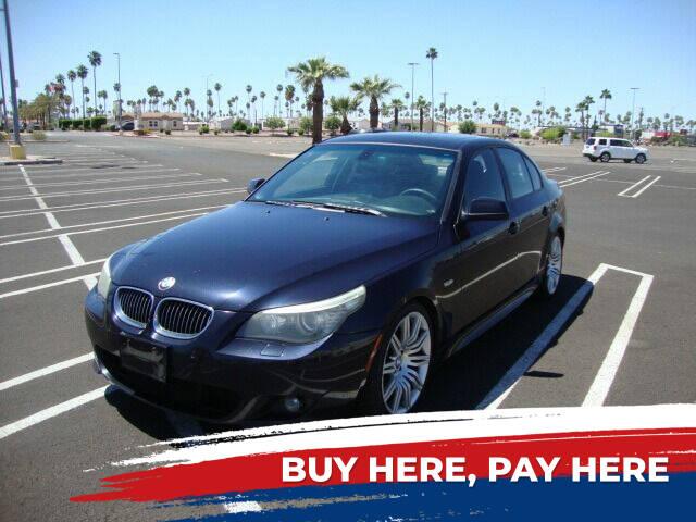 2010 BMW 5 Series for sale at FREDRIK'S AUTO in Mesa AZ