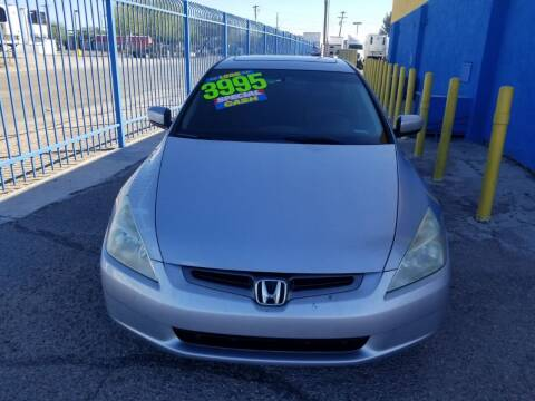 2003 Honda Accord for sale at CAMEL MOTORS in Tucson AZ