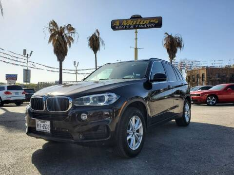 2015 BMW X5 for sale at A MOTORS SALES AND FINANCE - 6226 San Pedro Lot in San Antonio TX