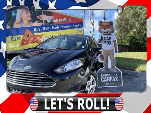 2015 Ford Fiesta for sale at Das Autohaus Quality Used Cars in Clearwater FL