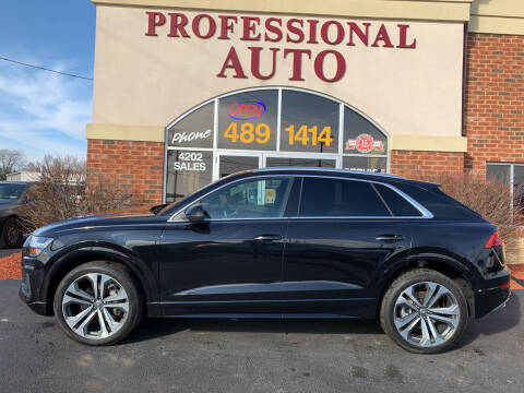 2019 Audi Q8 for sale at Professional Auto Sales & Service in Fort Wayne IN
