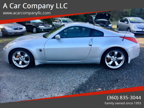 2008 Nissan 350Z for sale at A Car Company LLC in Washougal WA