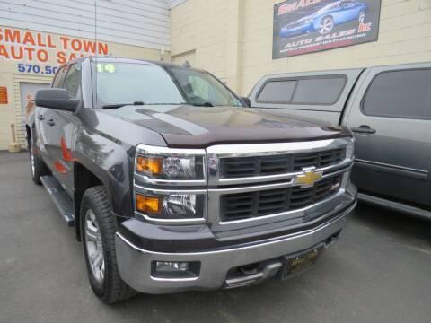 2014 Chevrolet Silverado 1500 for sale at Small Town Auto Sales in Hazleton PA