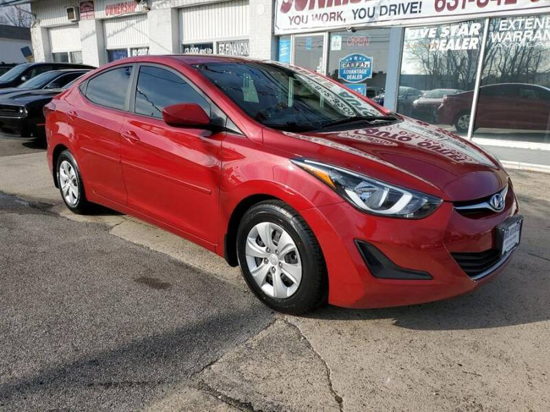 2016 Hyundai Elantra for sale at Sunrise Auto Outlet in Amityville NY