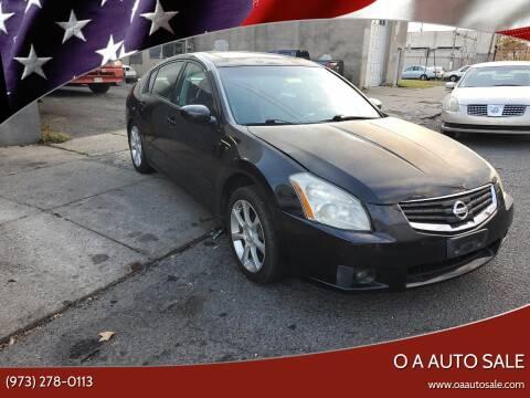 2007 Nissan Maxima for sale at O A Auto Sale in Paterson NJ