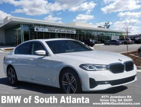 2021 BMW 5 Series for sale at Carol Benner @ BMW of South Atlanta in Union City GA