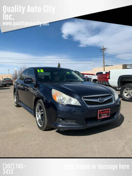 2012 Subaru Legacy for sale at Quality Auto City Inc. in Laramie WY