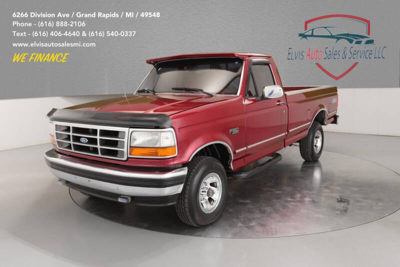 1994 Ford F-150 for sale at Elvis Auto Sales LLC in Grand Rapids MI