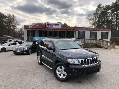2012 Jeep Grand Cherokee for sale at Unicar Enterprise in Lexington SC