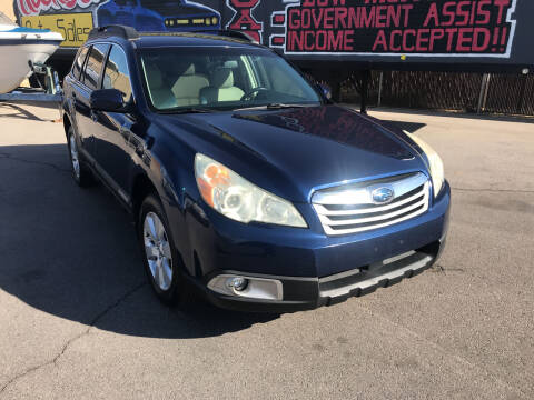 2010 Subaru Outback for sale at Rock Star Auto Sales in Las Vegas NV
