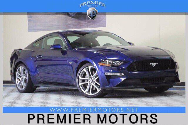 2018 Ford Mustang for sale at Premier Motors in Hayward CA