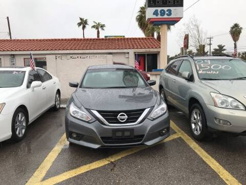 2017 Nissan Altima for sale at CASH OR PAYMENTS AUTO SALES in Las Vegas NV