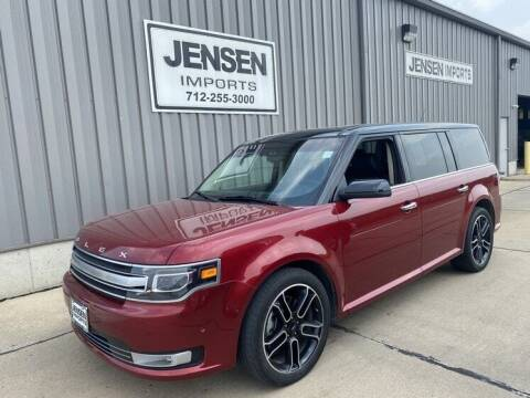 2013 Ford Flex for sale at Jensen's Dealerships in Sioux City IA
