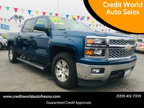 2015 Chevrolet Silverado 1500 for sale at Credit World Auto Sales in Fresno CA