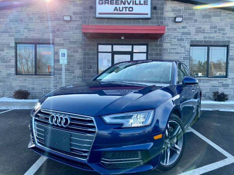 2017 Audi A4 for sale at GREENVILLE AUTO & RV in Greenville WI