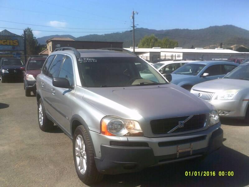 2004 Volvo XC90 for sale at Mendocino Auto Auction in Ukiah CA
