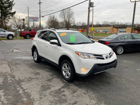 2014 Toyota RAV4 for sale at JERRY SIMON AUTO SALES in Cambridge NY