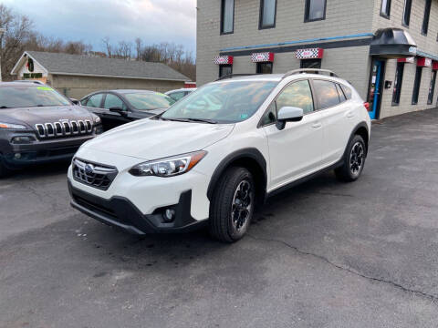2021 Subaru Crosstrek for sale at Sisson Pre-Owned in Uniontown PA
