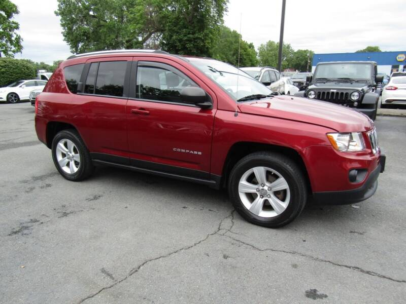 2012 Jeep Compass for sale at 2010 Auto Sales in Troy NY