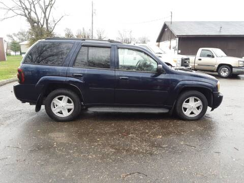 2007 Chevrolet TrailBlazer for sale at Riverview Auto's, LLC in Manchester OH