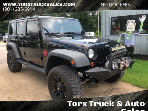 2008 Jeep Wrangler Unlimited for sale at Torx Truck & Auto Sales in Eads TN