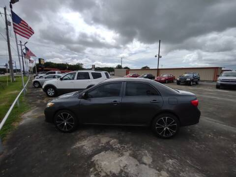 2010 Toyota Corolla for sale at BIG 7 USED CARS INC in League City TX