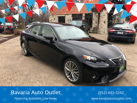 2016 Lexus IS 300 for sale at Bavaria Auto Outlet in Victoria MN