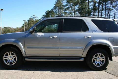 2005 Toyota Sequoia for sale at Hollingsworth Auto Sales in Wake Forest NC