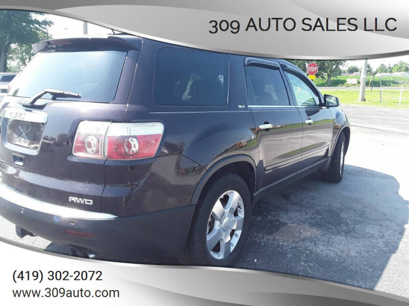 2008 GMC Acadia for sale at 309 Auto Sales LLC in Harrod OH