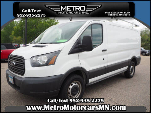 2016 Ford Transit Cargo for sale at Metro Motorcars Inc in Hopkins MN