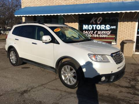 2009 Subaru Tribeca for sale at K O Motors in Akron OH