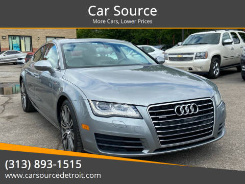 2012 Audi A7 for sale at Car Source in Detroit MI
