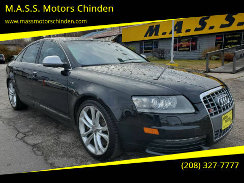 2010 Audi S6 for sale at M.A.S.S. Motors Chinden in Garden City ID
