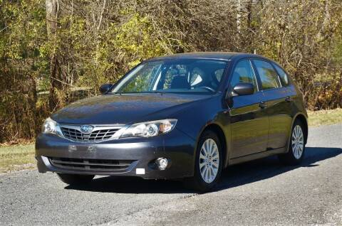 2008 Subaru Impreza for sale at EuroMotors LLC in Lee MA