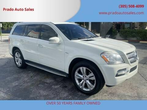 2012 Mercedes-Benz GL-Class for sale at Prado Auto Sales in Miami FL