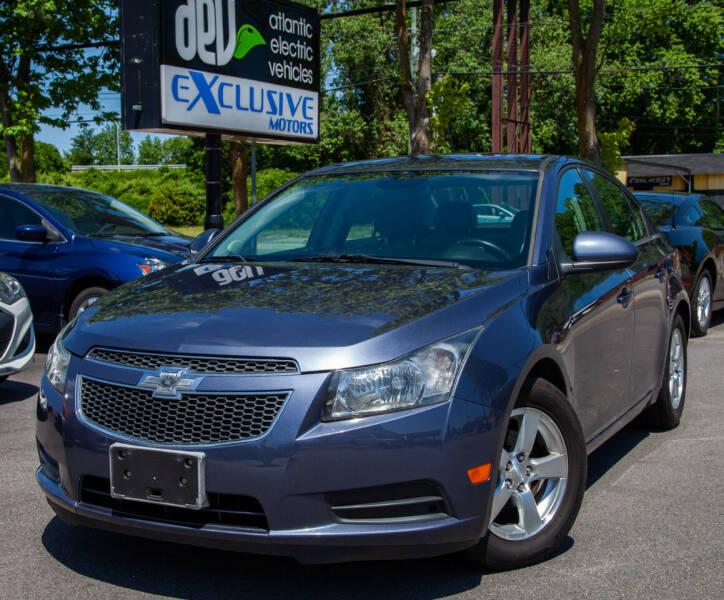 2013 Chevrolet Cruze for sale at EXCLUSIVE MOTORS in Virginia Beach VA