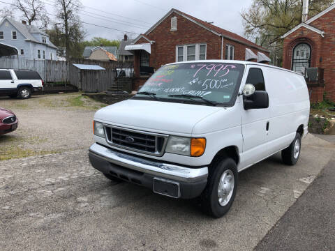 2007 Ford E-Series Cargo for sale at Kneezle Auto Sales in Saint Louis MO