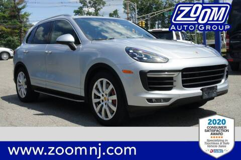 2015 Porsche Cayenne for sale at Zoom Auto Group in Parsippany NJ