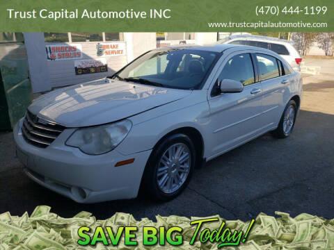 2007 Chrysler Sebring for sale at Trust Capital Automotive Inc. in Covington GA