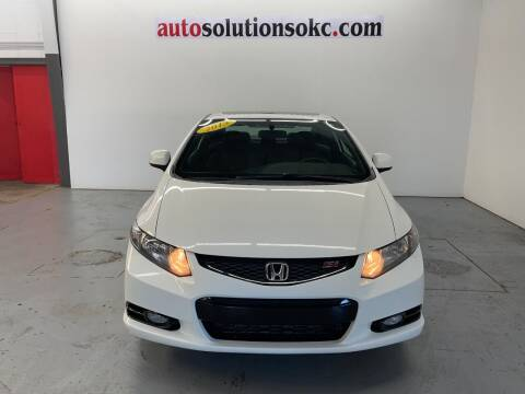 2013 Honda Civic for sale at Auto Solutions in Warr Acres OK