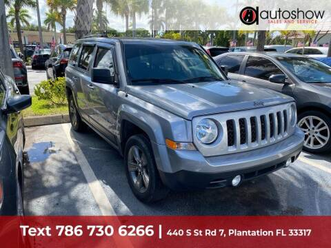 2016 Jeep Patriot for sale at AUTOSHOW SALES & SERVICE in Plantation FL