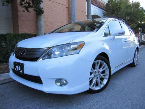 2010 Lexus HS 250h for sale at FLORIDACARSTOGO in West Palm Beach FL