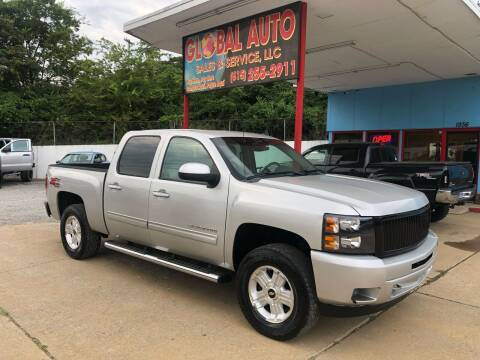 2010 Chevrolet Silverado 1500 for sale at Global Auto Sales and Service in Nashville TN